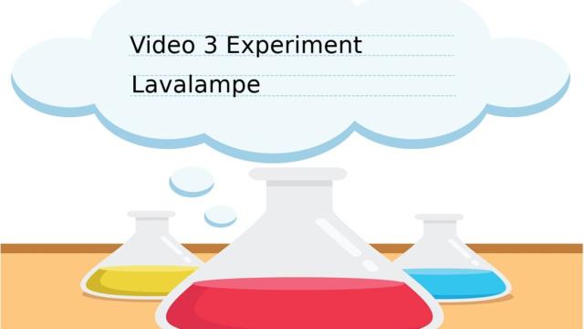 Experiment Lavalampe